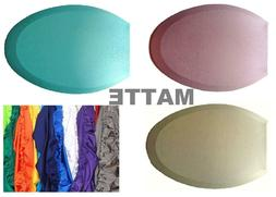 Matte Fabric Lid Cover for toilet SEAT Models Round & Elonga