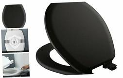 MAYFAIR 841EC 047 Toilet Seat will Never Loosen and Easily R