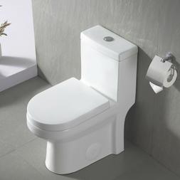 DeerValley Modern Toilet Small One Piece Toilet Compact Dual