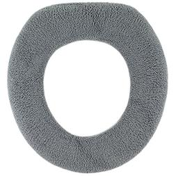 Warm-n-Comfy Soft Fabric Toilet Seat Cover